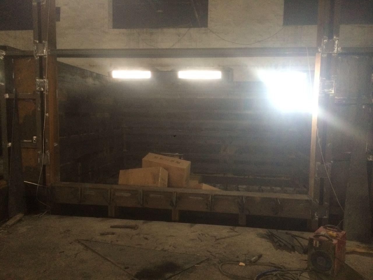 35吨熔铝炉施工介绍