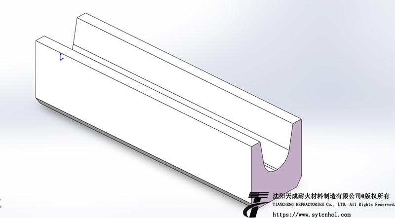 兑铁槽出钢槽图纸