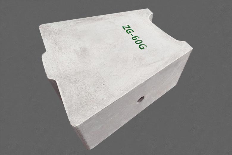 加热炉用莫来石出钢槽预制件