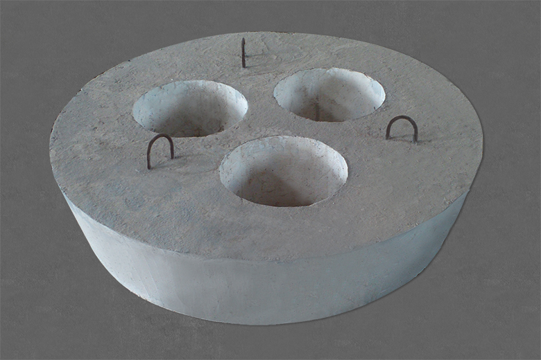 LF精炼炉预制炉盖