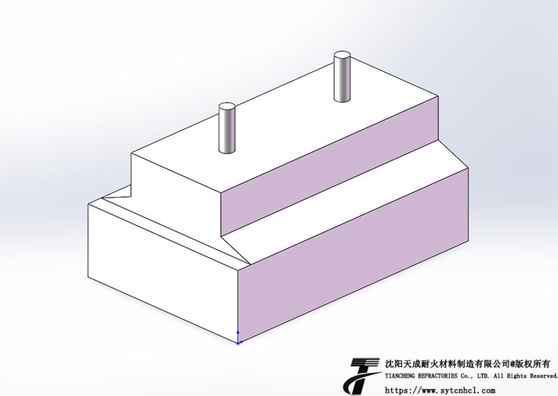异型耐火耐磨砖图纸