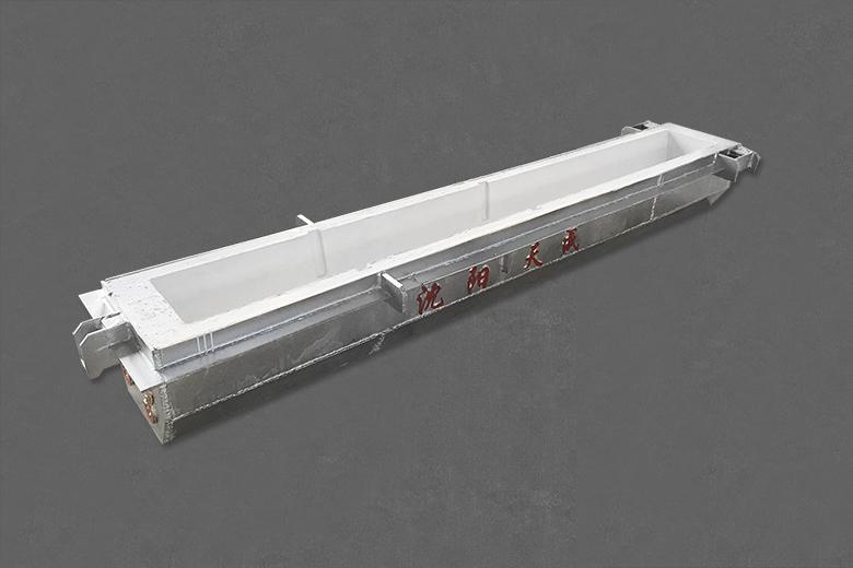 真空感应电炉用导流槽预制件