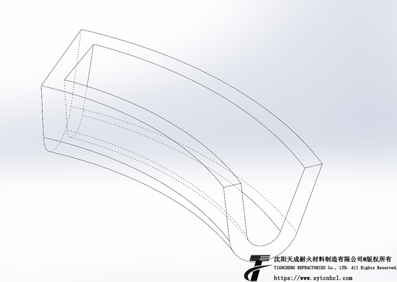 异型流槽图纸