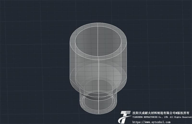 异型水口砖图纸